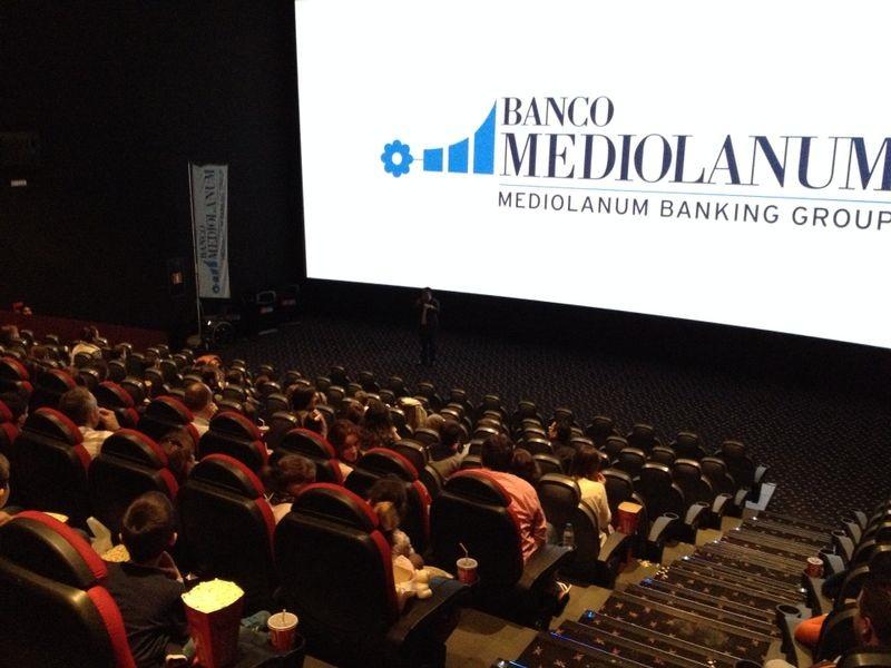 Cine con Banco Mediolanum en Vigo