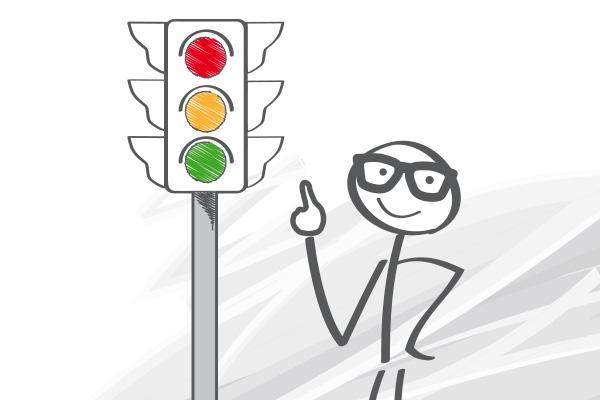 donde invertir de forma segura la ley de los semaforos