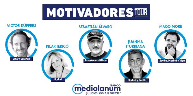 Vuelve la gira Motivadores Tour de Banco Mediolanum