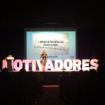 Pilar Jericó en el Motivadores Tour de Madrid