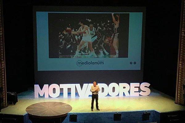 Juanma Iturriaga en el Motivadores Tour de Madrid
