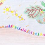Con la ilusión e imaginación de Marta te deseamos ¡feliz Navidad!
