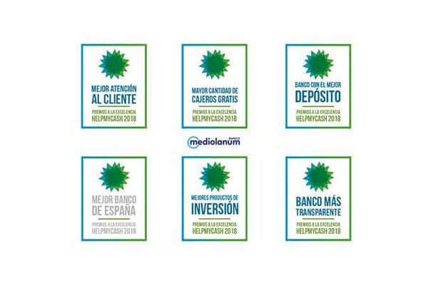 Banco Mediolanum premiado por excelencia bancaria