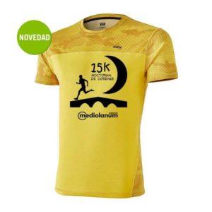 Camiseta oficial de la 15k Nocturna de Ourense