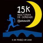 La 15K Nocturna de Ourense Banco Mediolanum, una carrera por el Miño bajo las estrellas