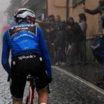 La montaña del Giro de Italia es azul